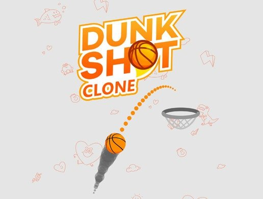Az yer kaplayan oyunlar Dunk Shot