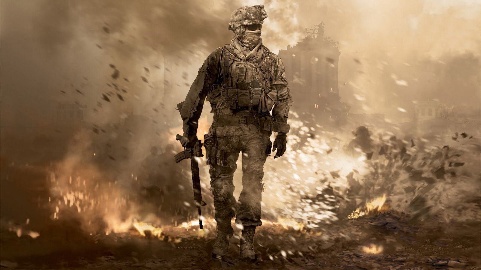 En iyi grafikli oyunlar Call of Duty: Modern Warfare Grafik
