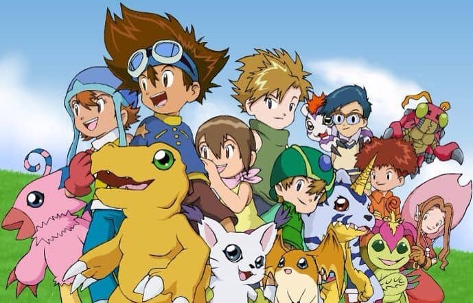 Isekai anime önerileri Digimon: Digital Monsters